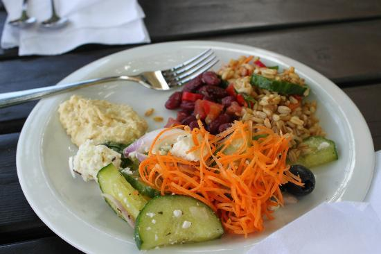 Hermans: First trip to buffet, just the cold foods