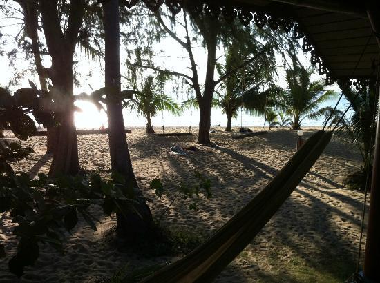 Wang Sai Resort: Vue depuis le bungalow