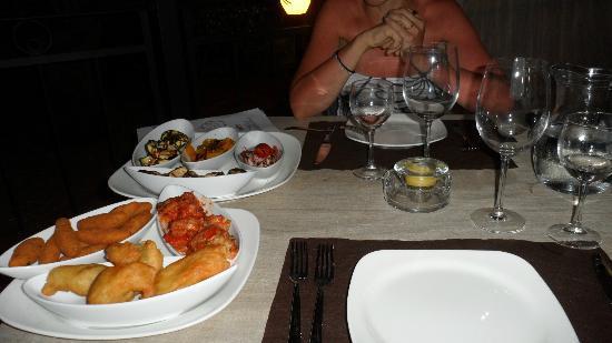 Volito Hotel & Resort: a cena: gli antipasti
