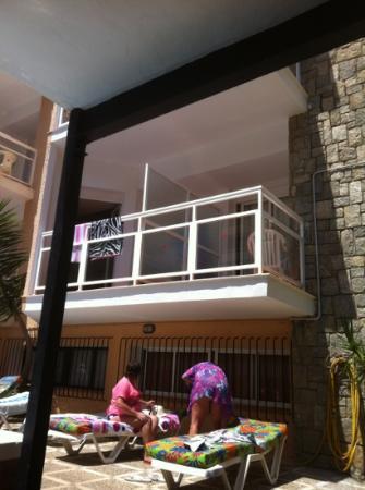 Hotel Boutique El Tiburón: our room number 6