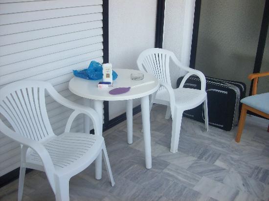 Kassandra Mare Hotel: terrace