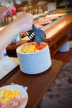 Hotel Helen: Prima colazione