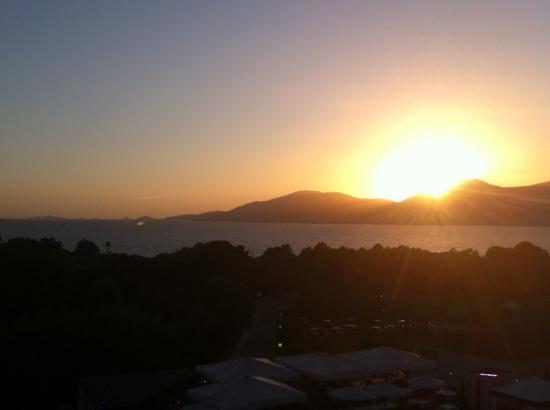 Bella Vista Residence : coucher de soleil