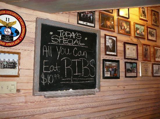 Cowboy's Bar-B-Q: Sat.Special: All U Can Eat Ribs $10.99 (11-12-11)
