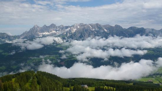 Pension Hoffelner: View from Hochwurzen