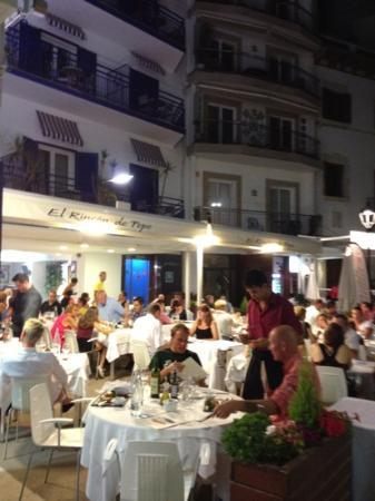 Restaurante Rincon de Pepe: vista desde la calle