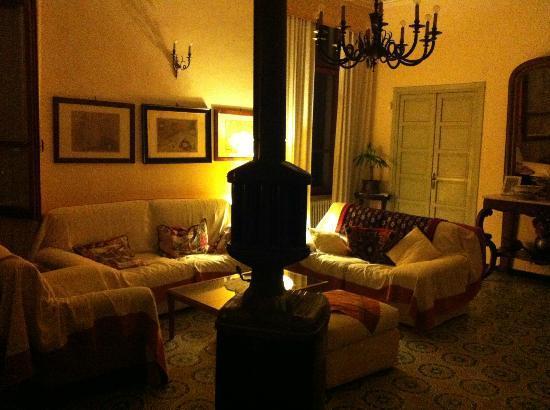 Villa Ducci Bed & Breakfast: Zona comune: il salotto