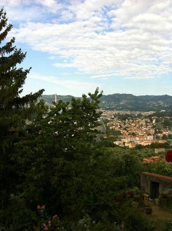 Villa Ducci Bed & Breakfast: Vista dalla terrazza