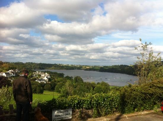 The Red Lion Inn: the beautiful view