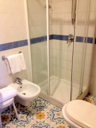 Hotel Belvedere & Tre Re: bagno