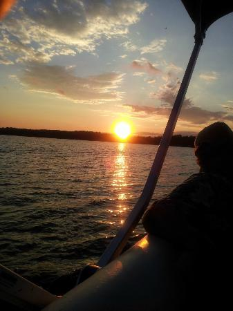 Grand View Lodge: Sunset cruise