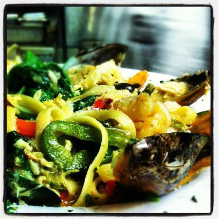 Peppertree Restaurant: Seafood Pasta