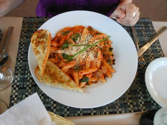 Anchor Inn Hotel: Moose ragout with penne