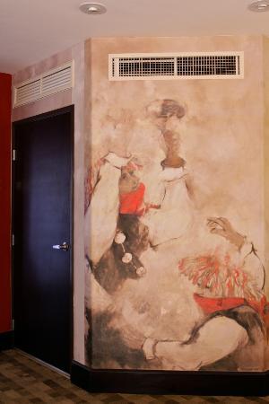 Casa del Alma Hotel Boutique & Spa: Murales interiores