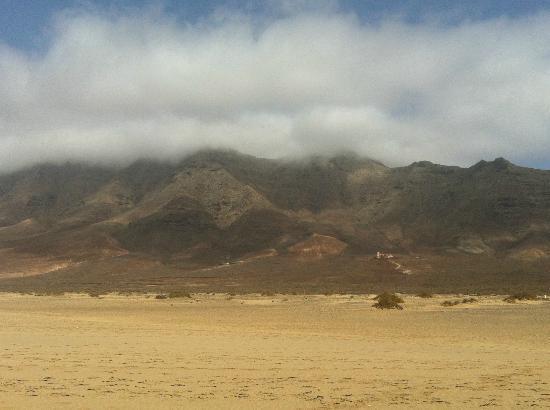 Playa de Cofete: cofete montagna