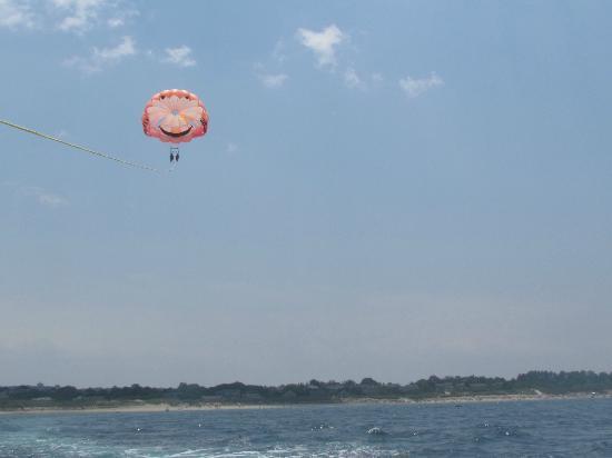 Dennis Parasail: 600 foot sail