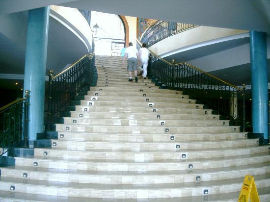 Bahia Principe Tenerife: bajada al comedor