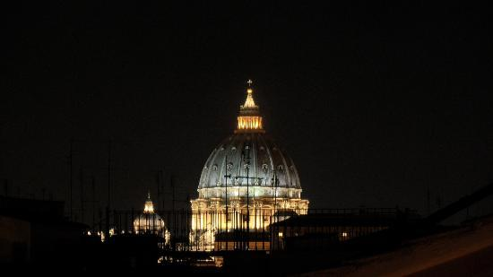 Hotel Arcangelo: The Vatican as seen from our rooftop
