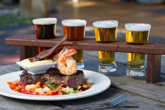 Old Brickworks Brasserie at Potters Hunter Valley: Food and Beer... a match made in Heaven!