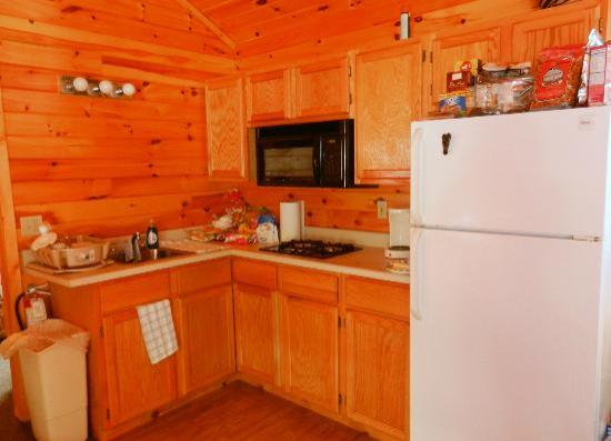 Twin Birches: Kitchen