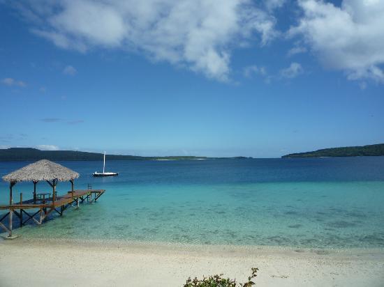 The Havannah, Vanuatu: Jetty