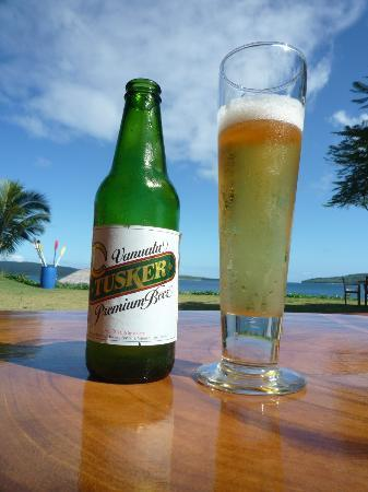 The Havannah, Vanuatu: Local Beer