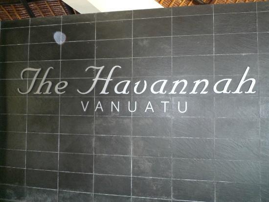 The Havannah, Vanuatu: The Havannah