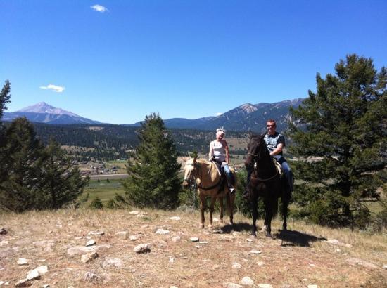Canyon Adventures Horseback Day Tours: big sky!