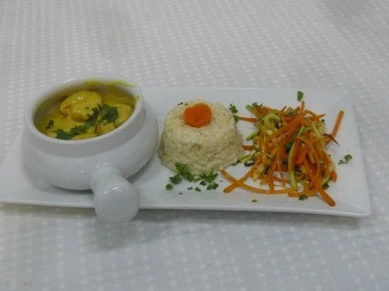 Cook ' n Paris: Shrimps in Curry Sauce