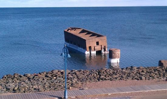 Hampton Inn Duluth: View from the room.