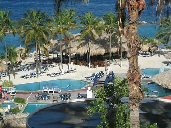 Sunscape Curacao Resort Spa & Casino: view from the royal wing oceanviews