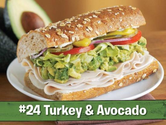 Togo's Great Sandwiches - Biddle Road : #24, Turkey Avocado