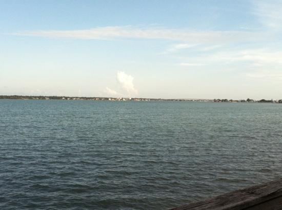 Backwater's on Sand Key: view from back deck