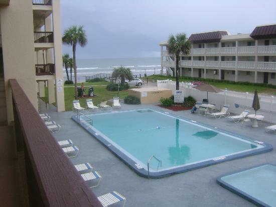 Coastal Waters Inn : View from 2nd floor