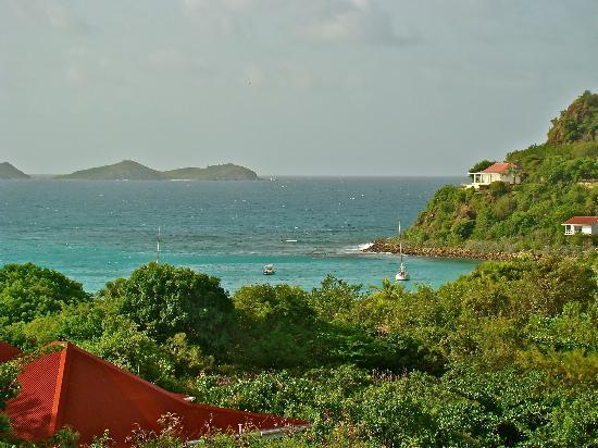 Hotel Le Village St Barth: View from our Cottage