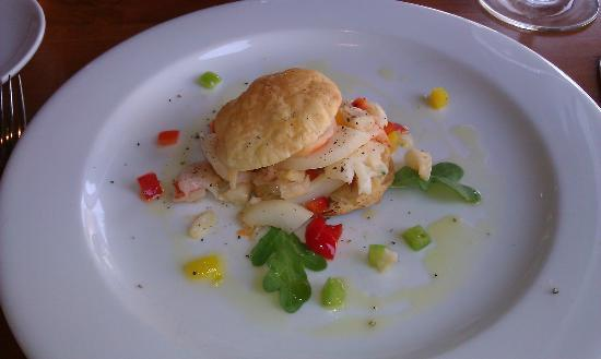 Baroncini: The seafood salad appetizer