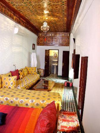 Dar Lalla Kenza: room