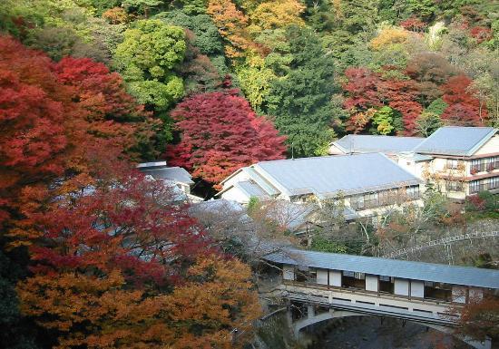 Gekkouen Yuugetsusansou: 游月山荘秋の風景