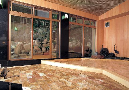 Arima Onsen Gekkoen Yugetsusanso: 男性用大浴場「鶴の湯」