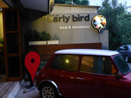 Early Bird Bed & Breakfast: Entrance