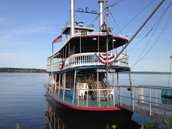 Chautauqua Belle Steamboat: chatauqua belle
