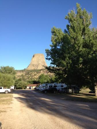 Devils Tower KOA: campground and tower