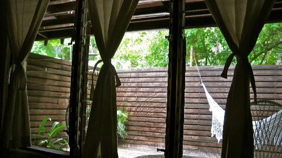 The Harmony Hotel: the room's patio