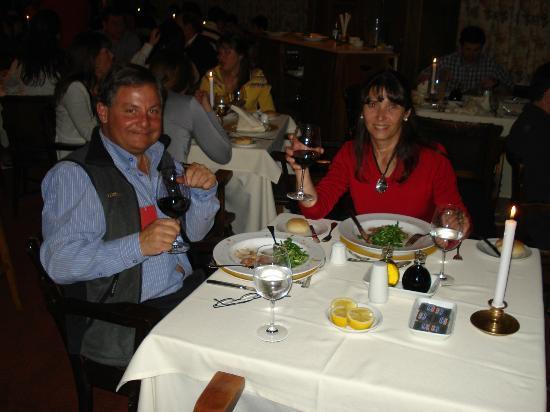 Portillo Hotel: La cena