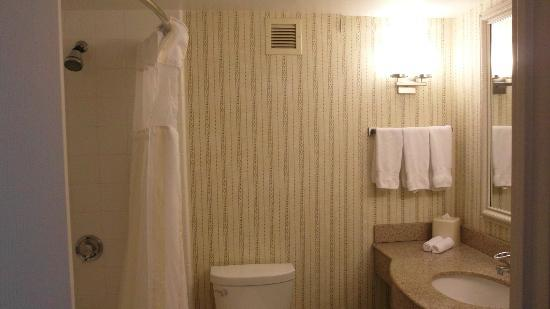 Hilton Garden Inn Oakbrook Terrace: Clean bathroom and big towels.