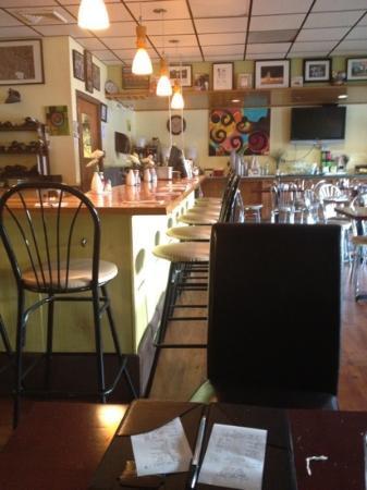 Village Cafe and Bistro: diner like setting.