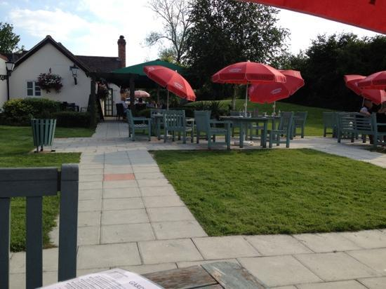 Waterwitch: Outside seating area