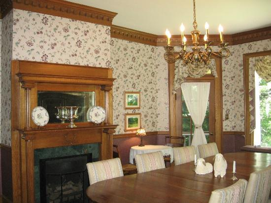 The Yellow House on Plott Creek Road: Other wall of dinning room