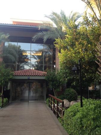 Gloria Golf Resort: one of the entrances :)