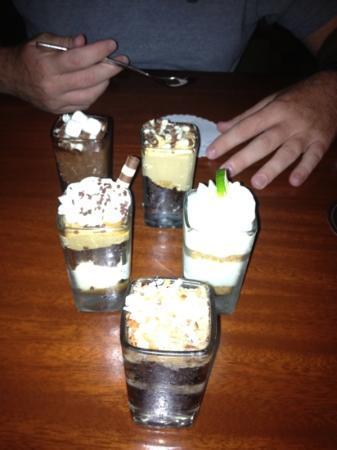 Seasons 52 : Just a few of the amazing mini desserts!
